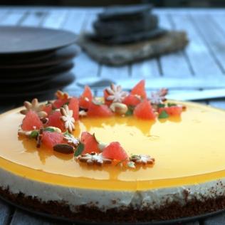 cheesecake med hvid chokolade og citrus 1